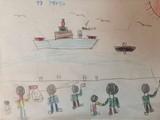 <h5>Mehmet Perinçek'in ilkokulda çizdiği resimler</h5>